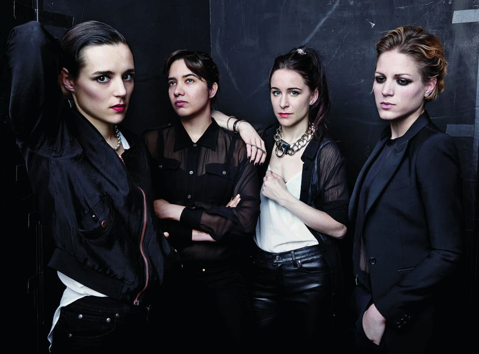 Savages, who provided a healthy dose of intense, crowd-pleasing post-punk