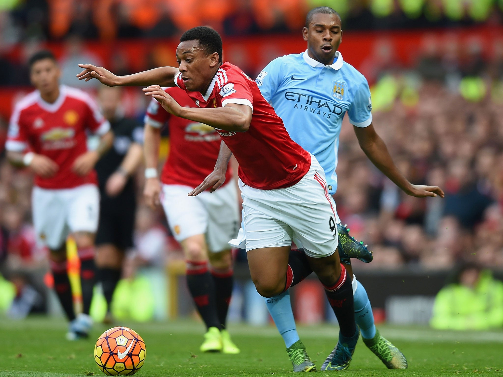 Manchester United 0 Manchester City 0: Five things we learnt, including Anthony Martial is wasted on the wing