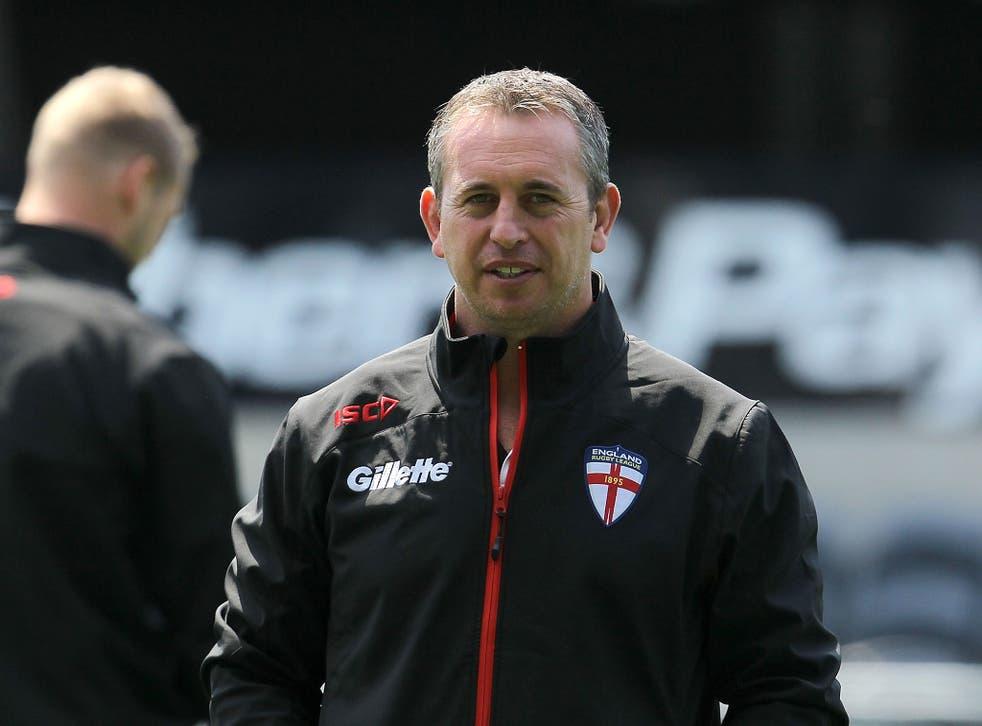 England rugby league head coach Steve McNamara
