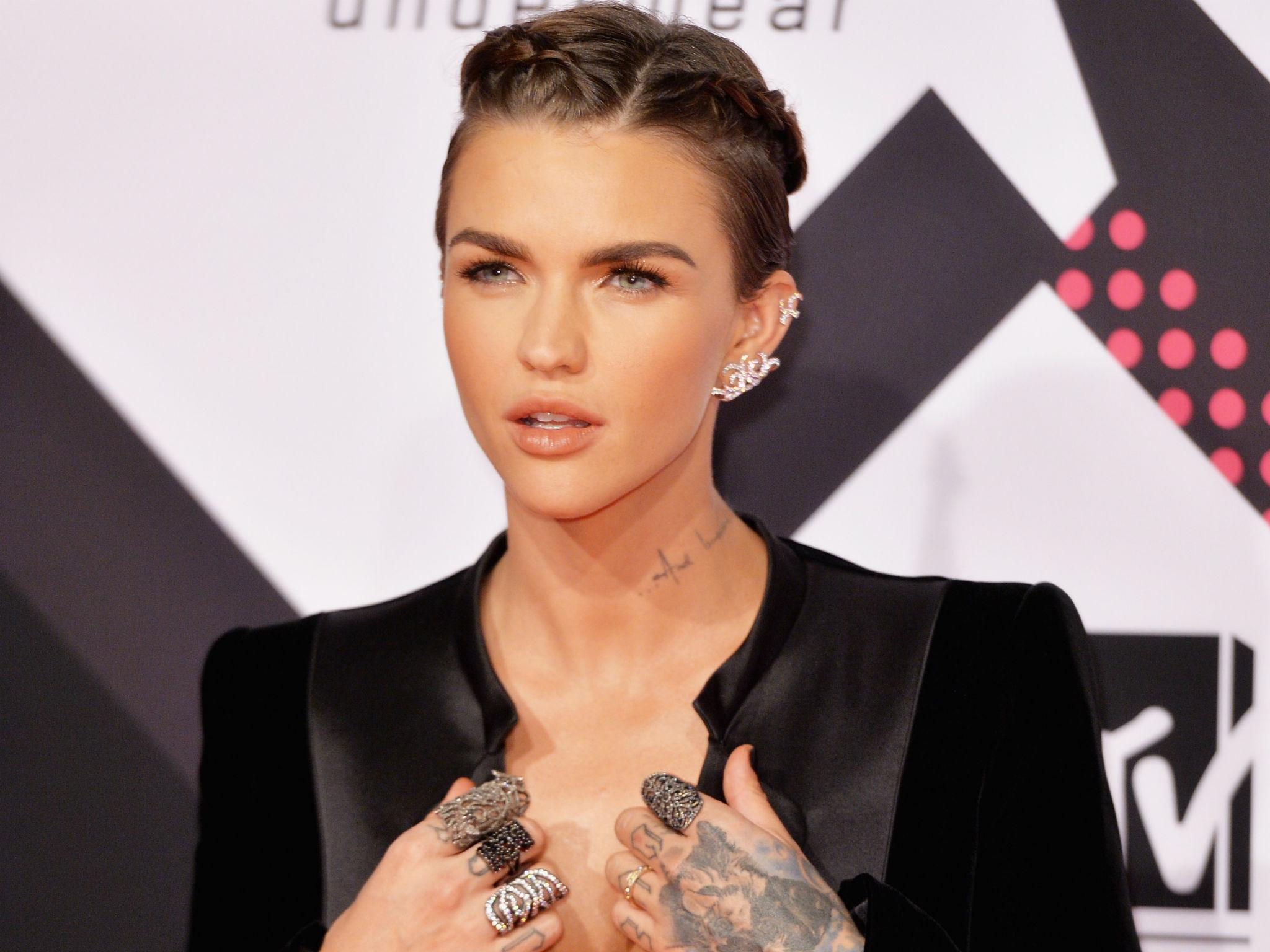 ruby rose: urban decay announces gender fluid model and actress as