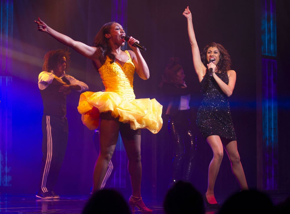 The cast of The Bodyguard, who were performing for the final time in Nottingham on Saturday