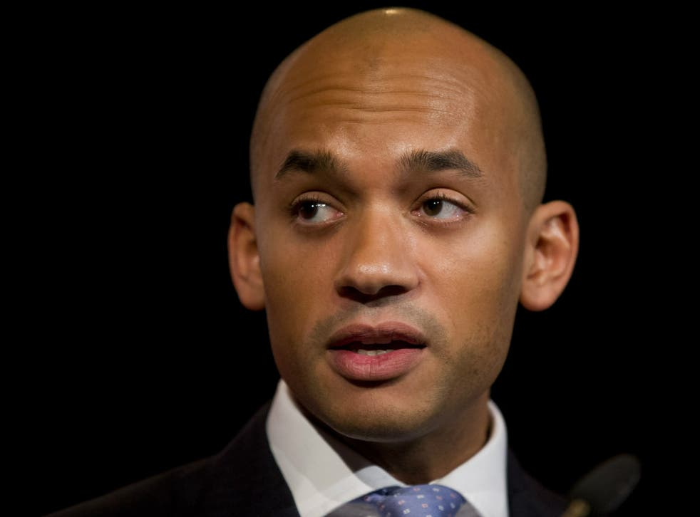Labour MP Chuka Umunna is one of a number of MPs from his party backing electoral reform