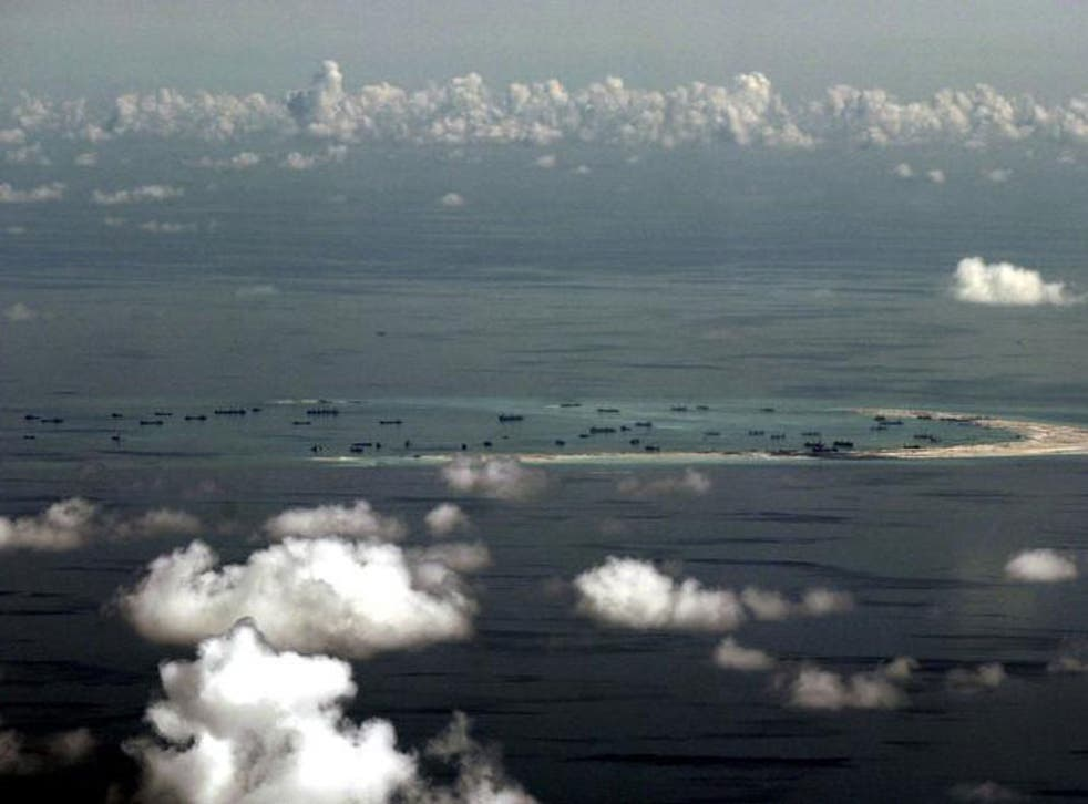 The South China Sea is disputed by China and its Southeast Asian neighbours.