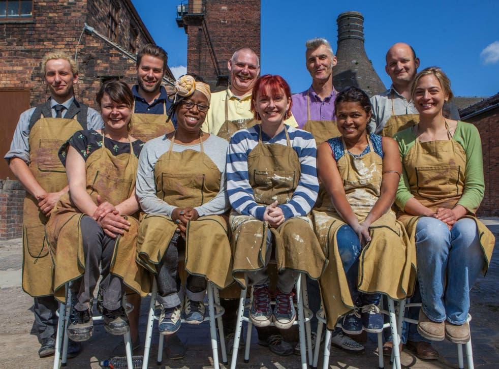 Matthew, Joanna, James, Sandra, Nigel, Jane, Jim, Tom, Rekha, Sally-Jo will compete in The Great Pottery Throw Down