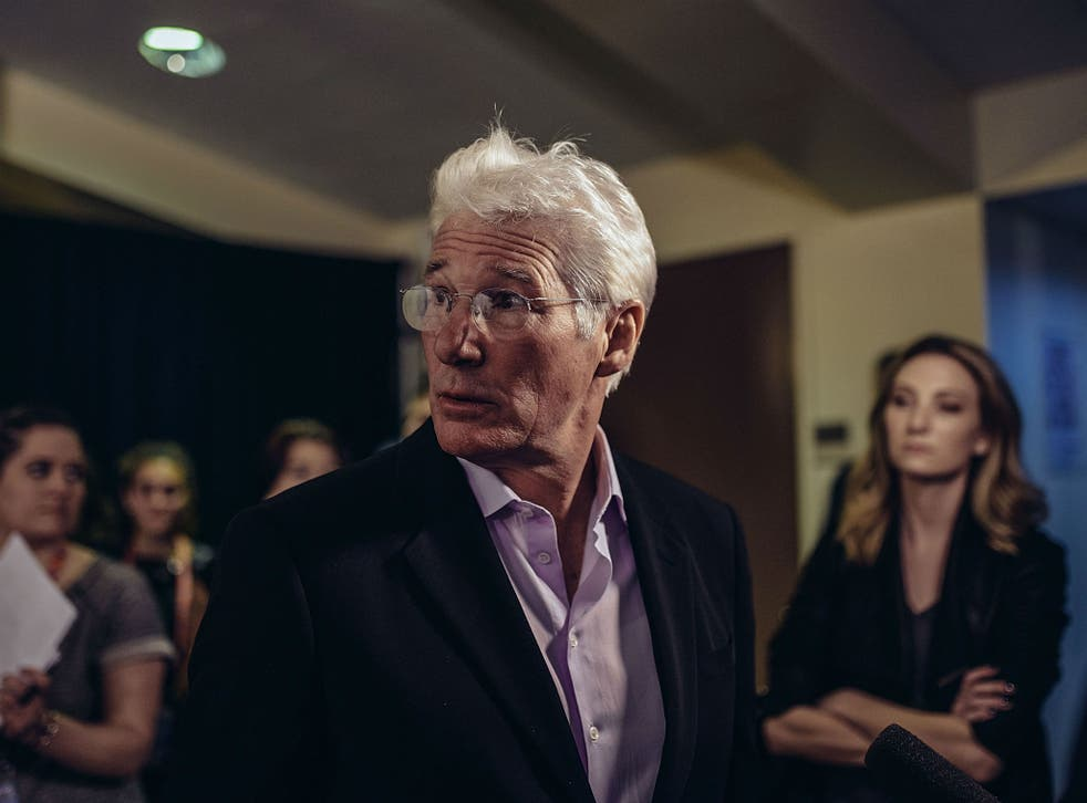 Richard Gere plays a homeless man in Time Out of Mind
