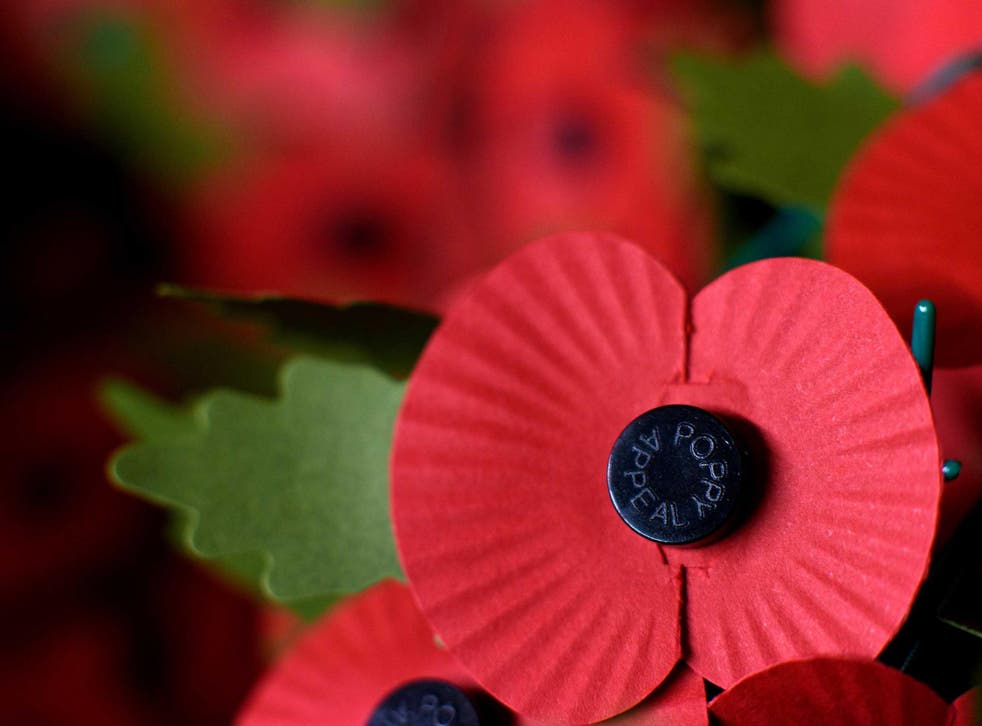 The poppy is worn each year by millions of people as a symbol of remembrance