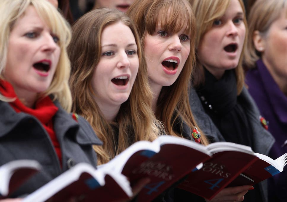 singing is a bonding behaviour letting adults make friends more
