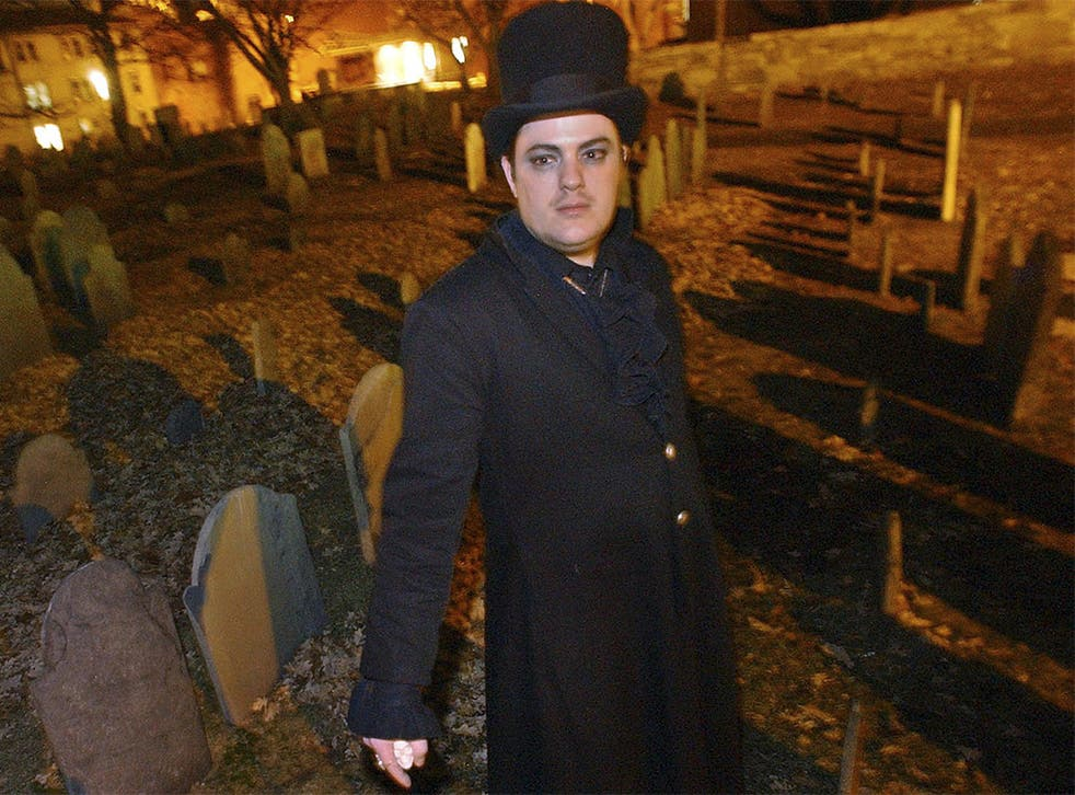 Christian Day, who claims to be the world's best-known warlock, is said to have harassed a witch