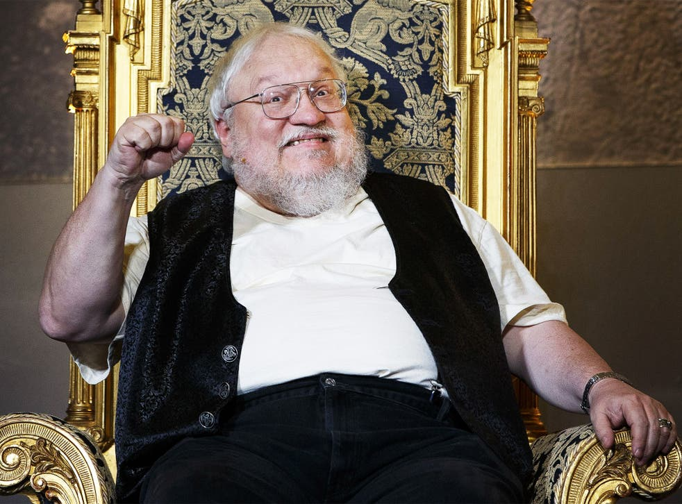 Enthroned: GoT has made a household name of the author of the books, George RR Martin