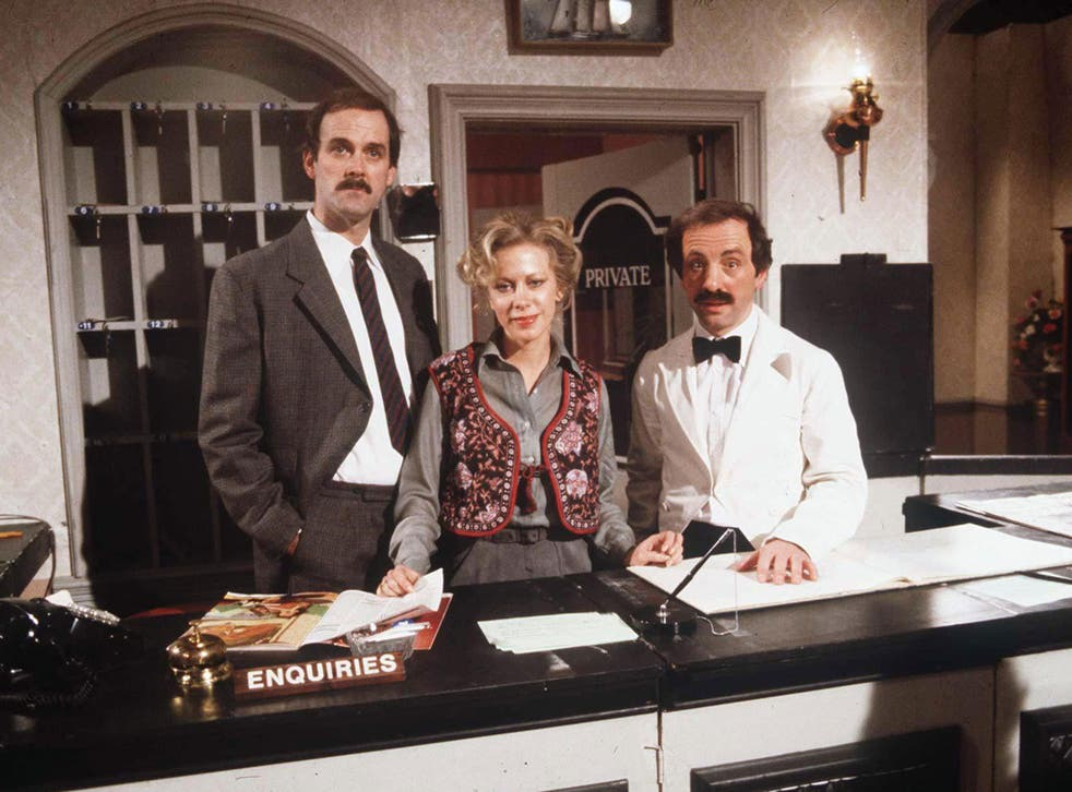 Inventive, inspired, ingenious sarcasm: The cast of Fawlty Towers