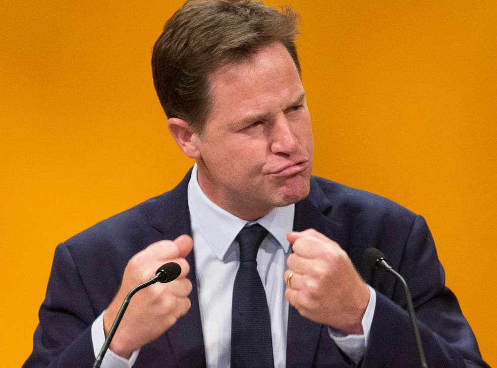 Nick Clegg warns about the danger of following the 'fax democracy' of Norway to access trade