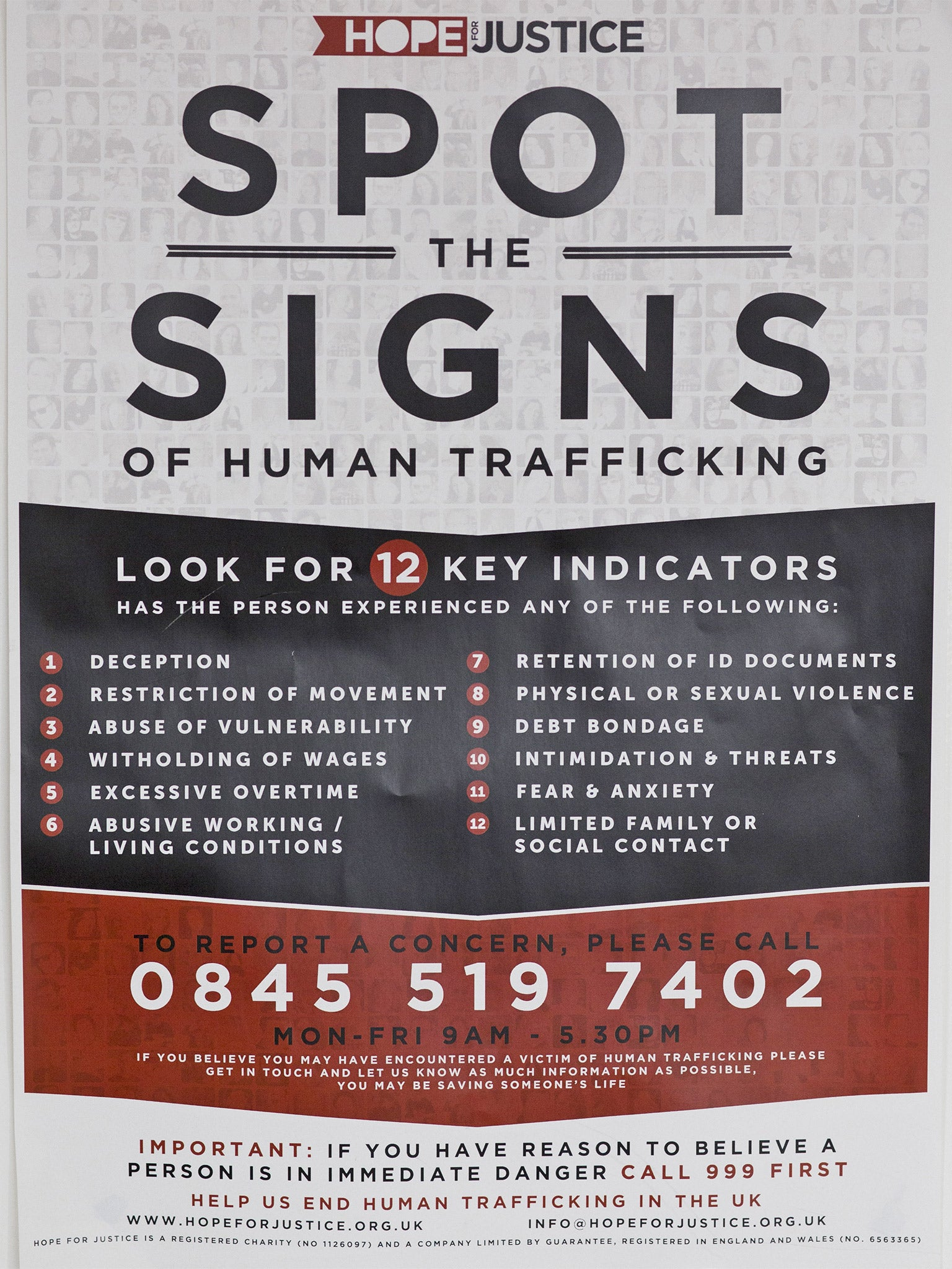 How to spot sex trafficking victims