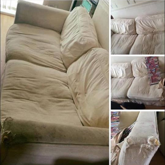 Woman selling her sofa falls victim to possibly cruellest prank of all time