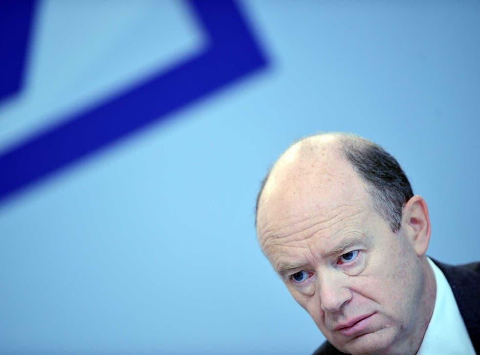 American regulators have given Deutsche Bank boss John Cryan a severe headache