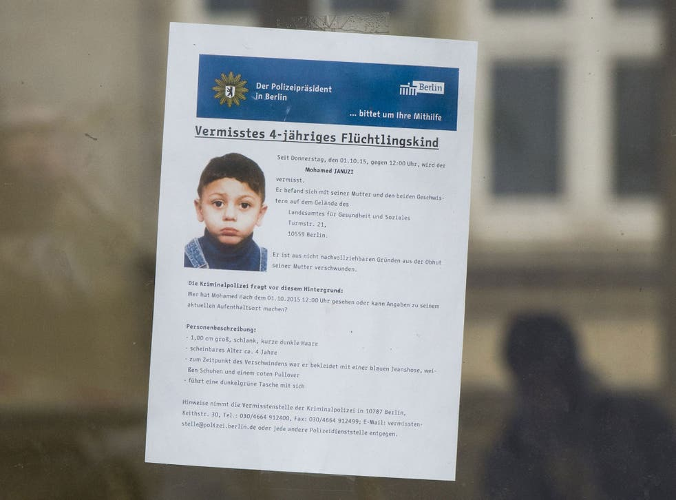 The man was arrested in connection with the disappearance of four-year-old Mohamed Januzi
