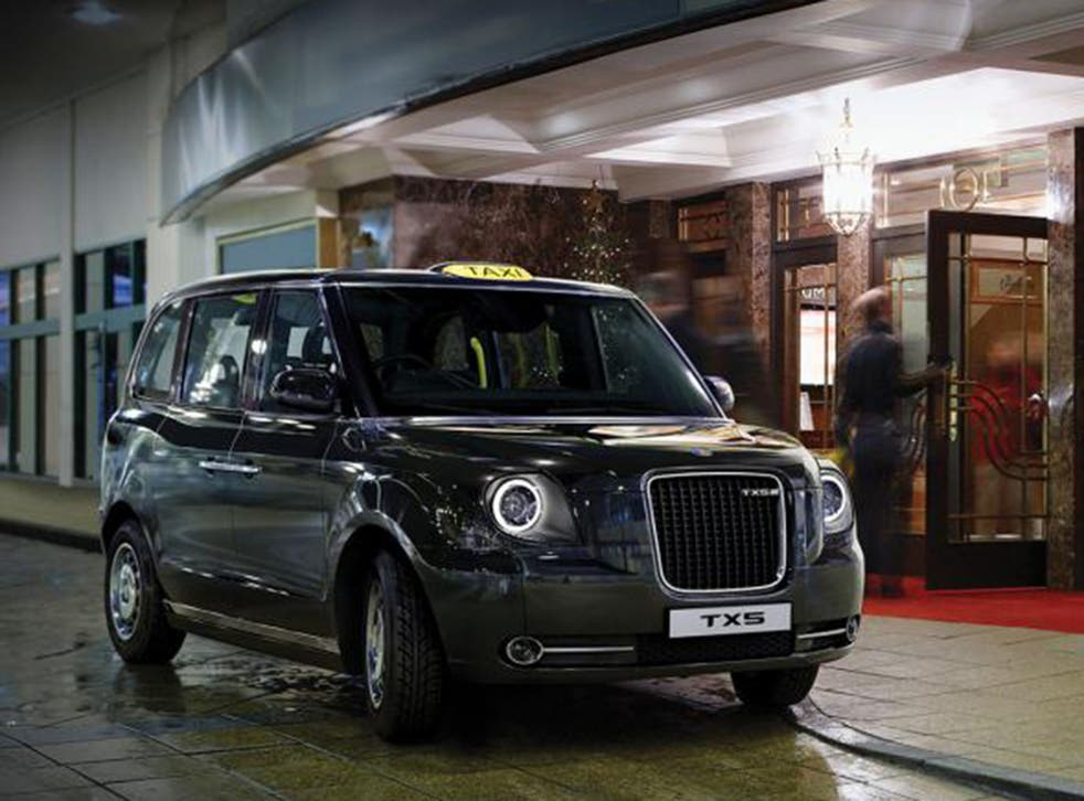 The TX5, is made by the London Taxi Company – owned by China's Geely corporation
