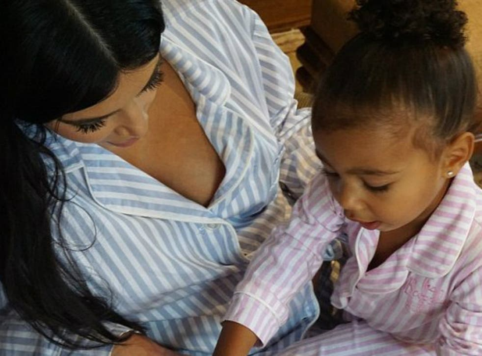 Kim Kardashian, the ultimate 'celebrity mum', and her daughter North West