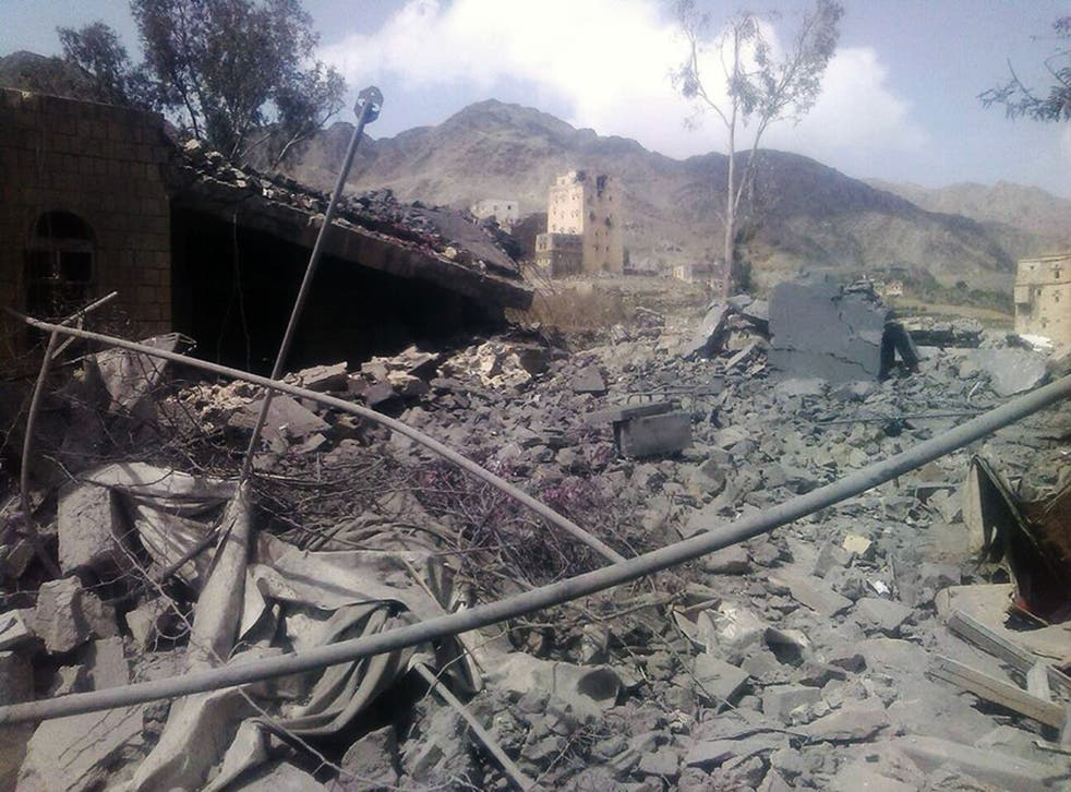 Médecins Sans Frontières has blamed the Saudi-led coalition for air strikes in Saada province, which destroyed a hospital