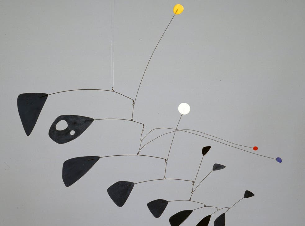 Antennae with Red and Blue Dots 1953