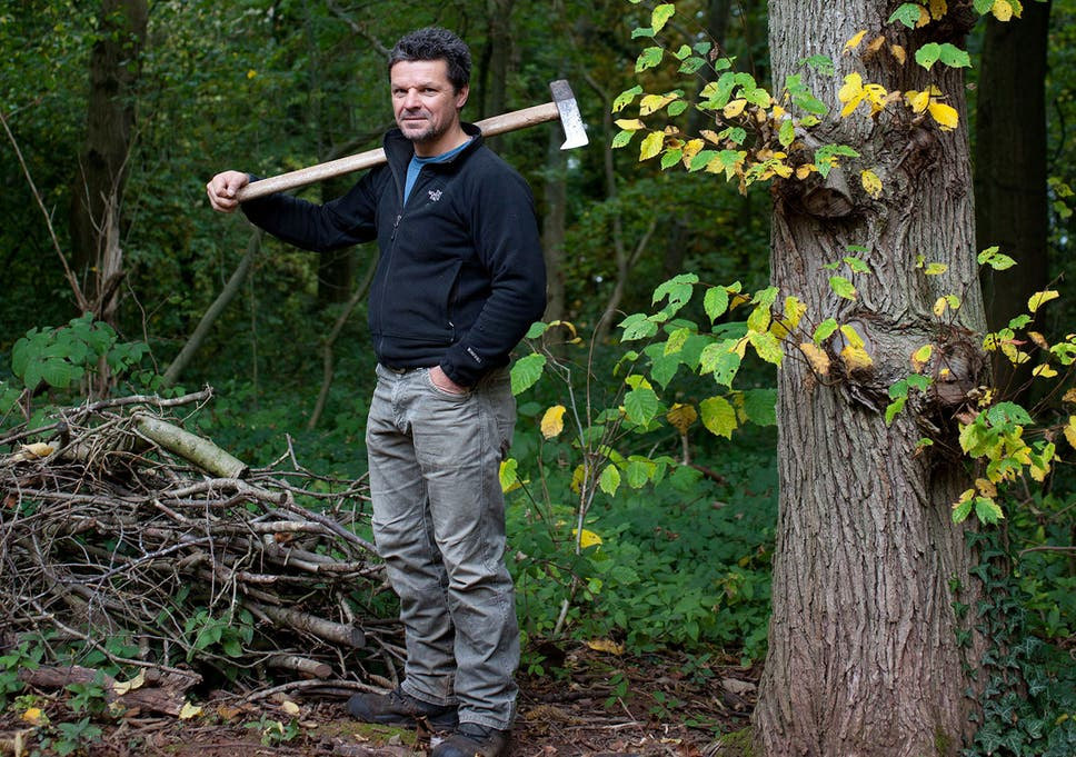 Lumbersexual life: The joy of chopping wood and building the