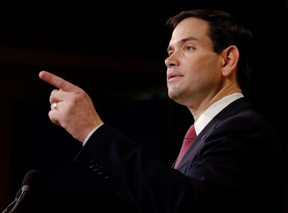 Senator Marco Rubio was the undoubted winner of Wednesday night's political debate
