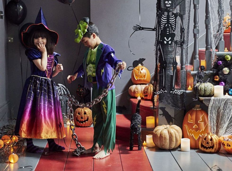 All Tu clothing at Sainsbury's – including Halloween costumes – is being sold at 25 per cent off until Monday 2 November