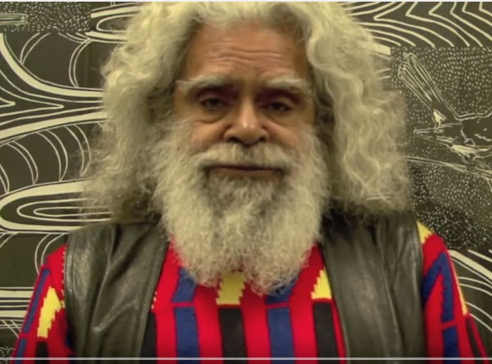 'Uncle' Jack Charles is a much respected Aboriginal elder
