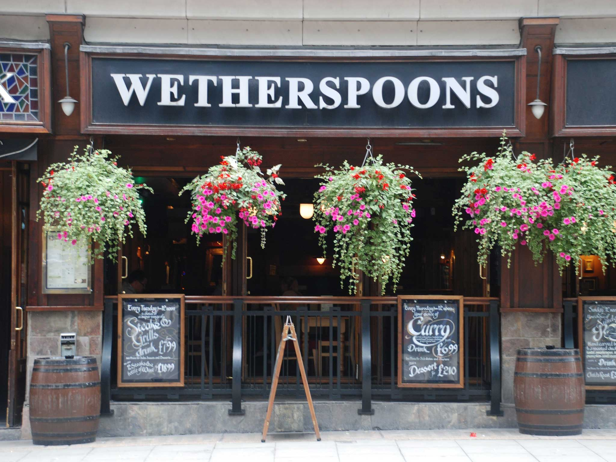 Image result for Wetherspoon