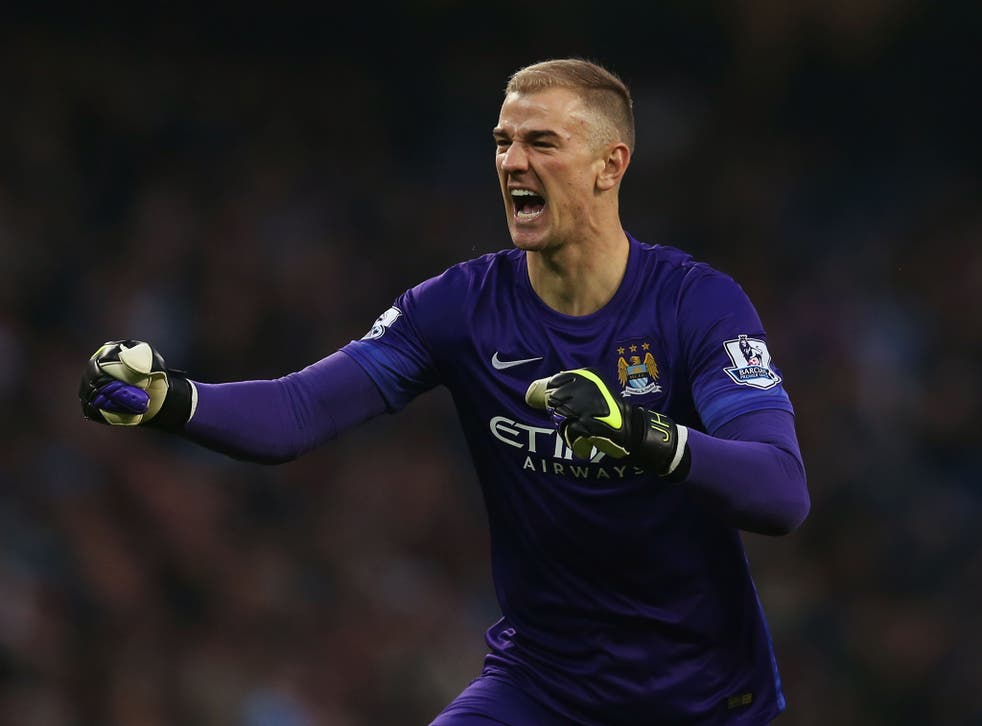 Joe Hart is expected to feature for Manchester City