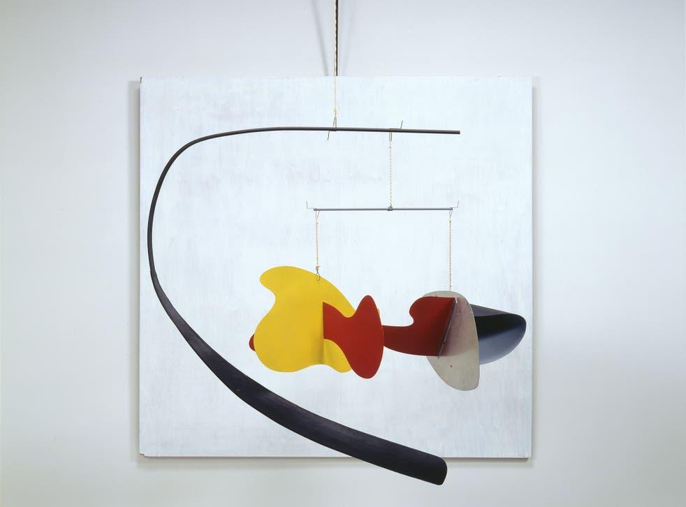 Alexander Calder (1898 - 1976) - White Panel 1936