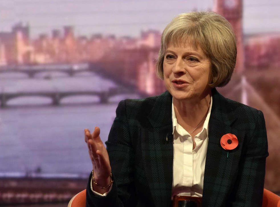 Theresa May was evasive about leading the campaign on The Andrew Marr Show