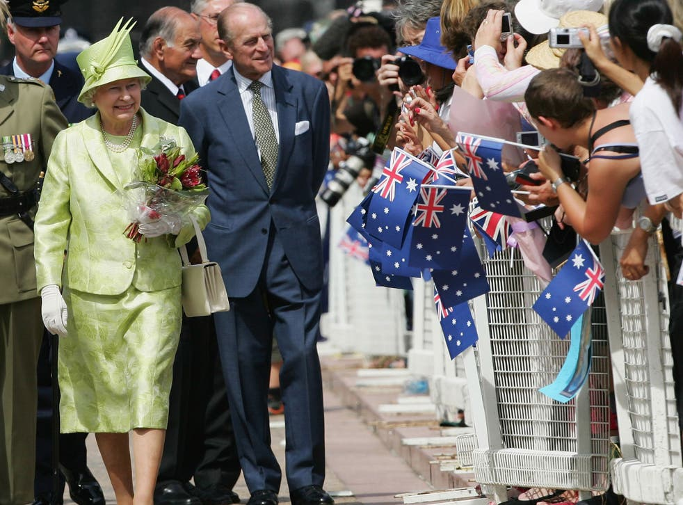 Prince Philip was controversially awarded a knighthood on Australia Day by Tony Abbott last year