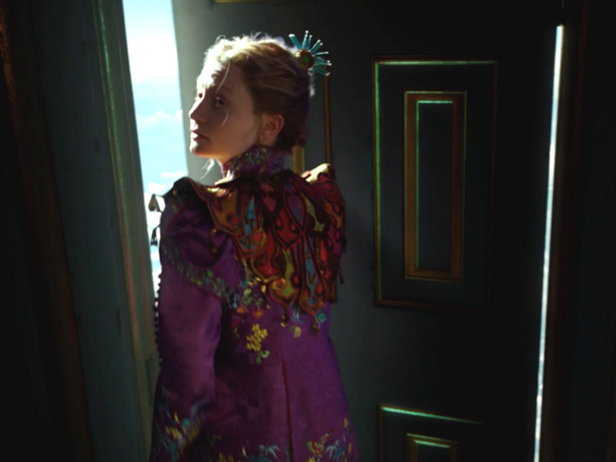 Alice In Wonderland Through The Looking Glass Gets Colourful First