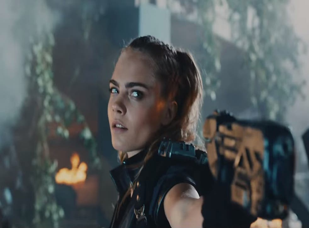 Call Of Duty Black Ops 3 Cara Delevingne Stars In Live Action Trailer The Independent The Independent