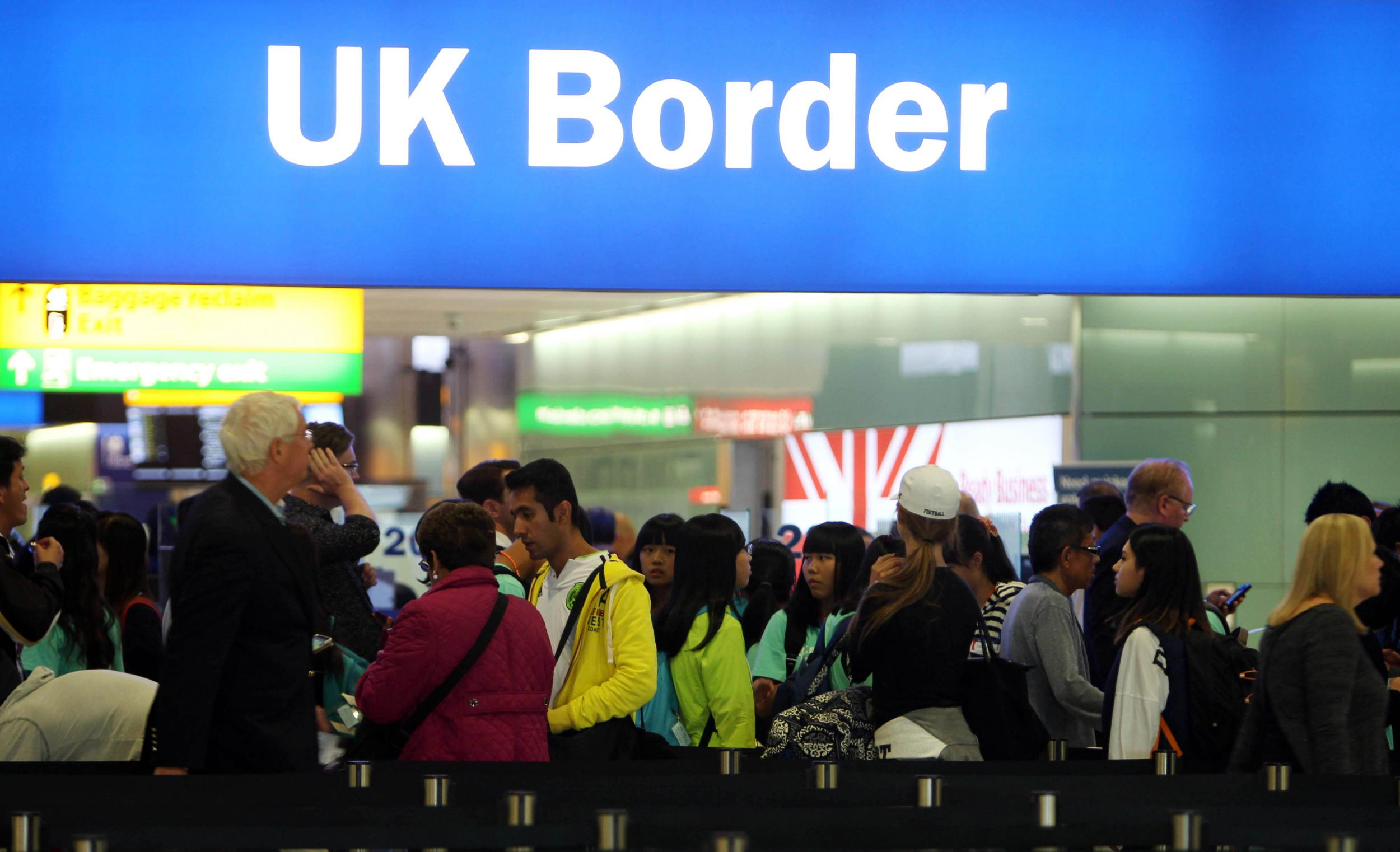 How much immigration is there in your area here are the numbers