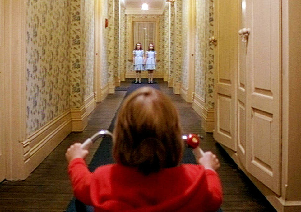 Danny Lloyd Lisa And Louise Burns In 1980 Horror Film The Shining