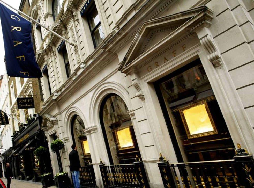 London's Graff jewellers