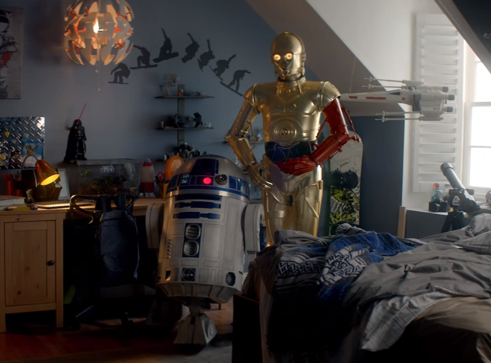 C-3PO and R2-D2 star in the Duracell Christmas ad ahead of Star Wars 7 reaching cinemas