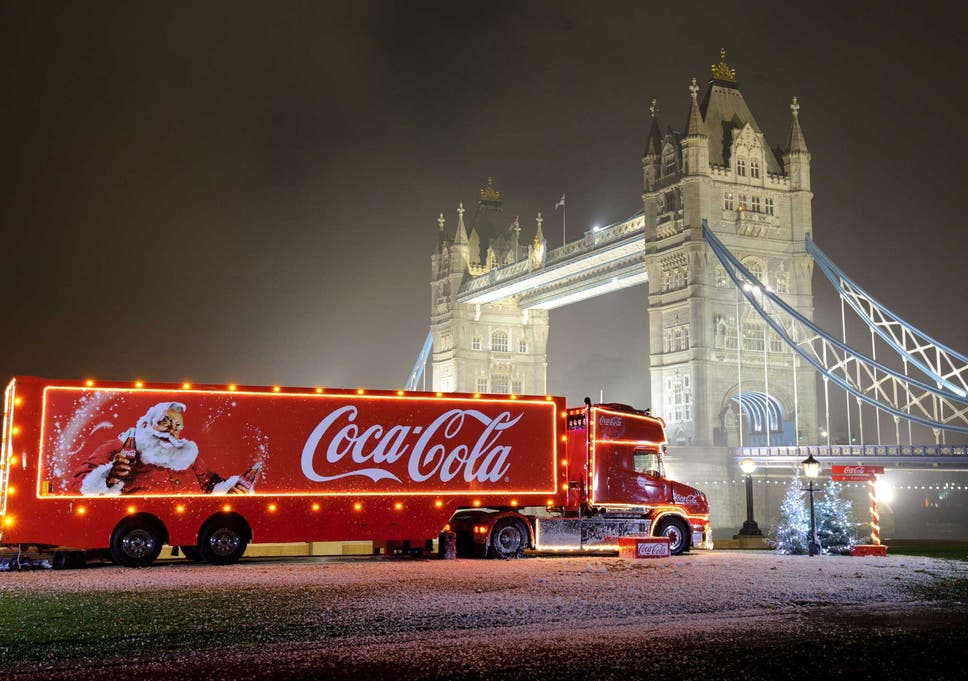 for many coca colas iconic truck tour marks the official start of christmas - When Is Christmas In 2015