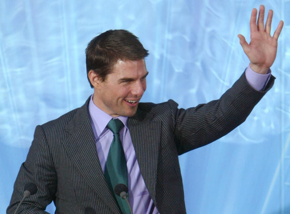 Tom Cruise made a surprise appearance in London