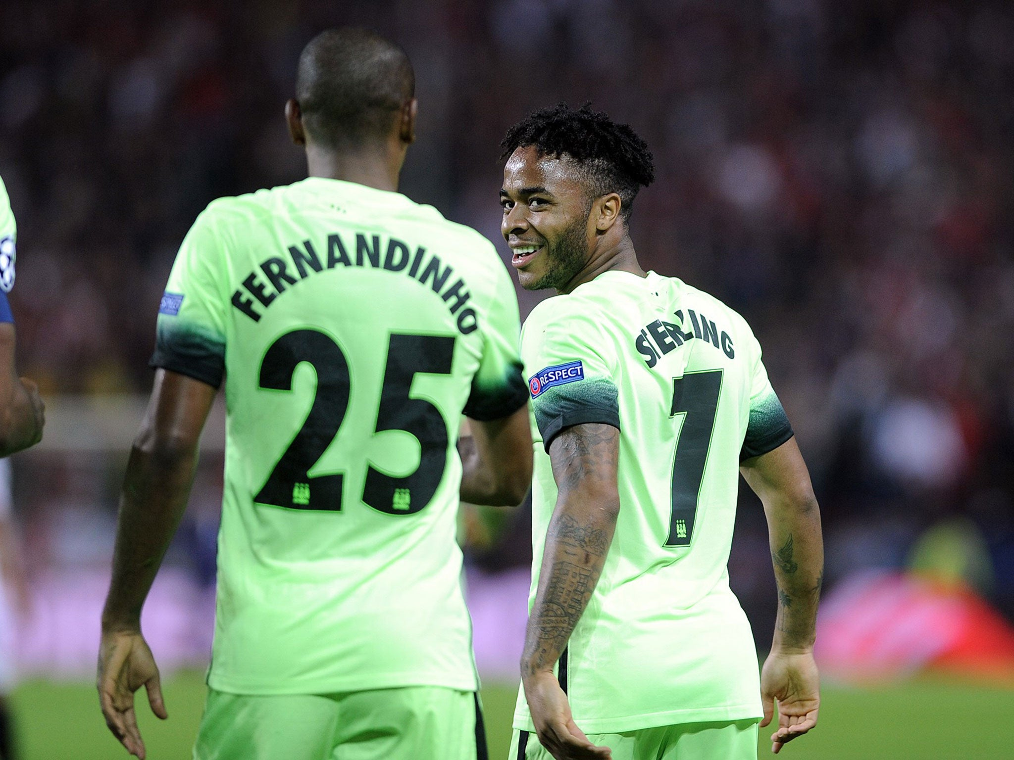 Sevilla vs Manchester City match report Raheem Sterling