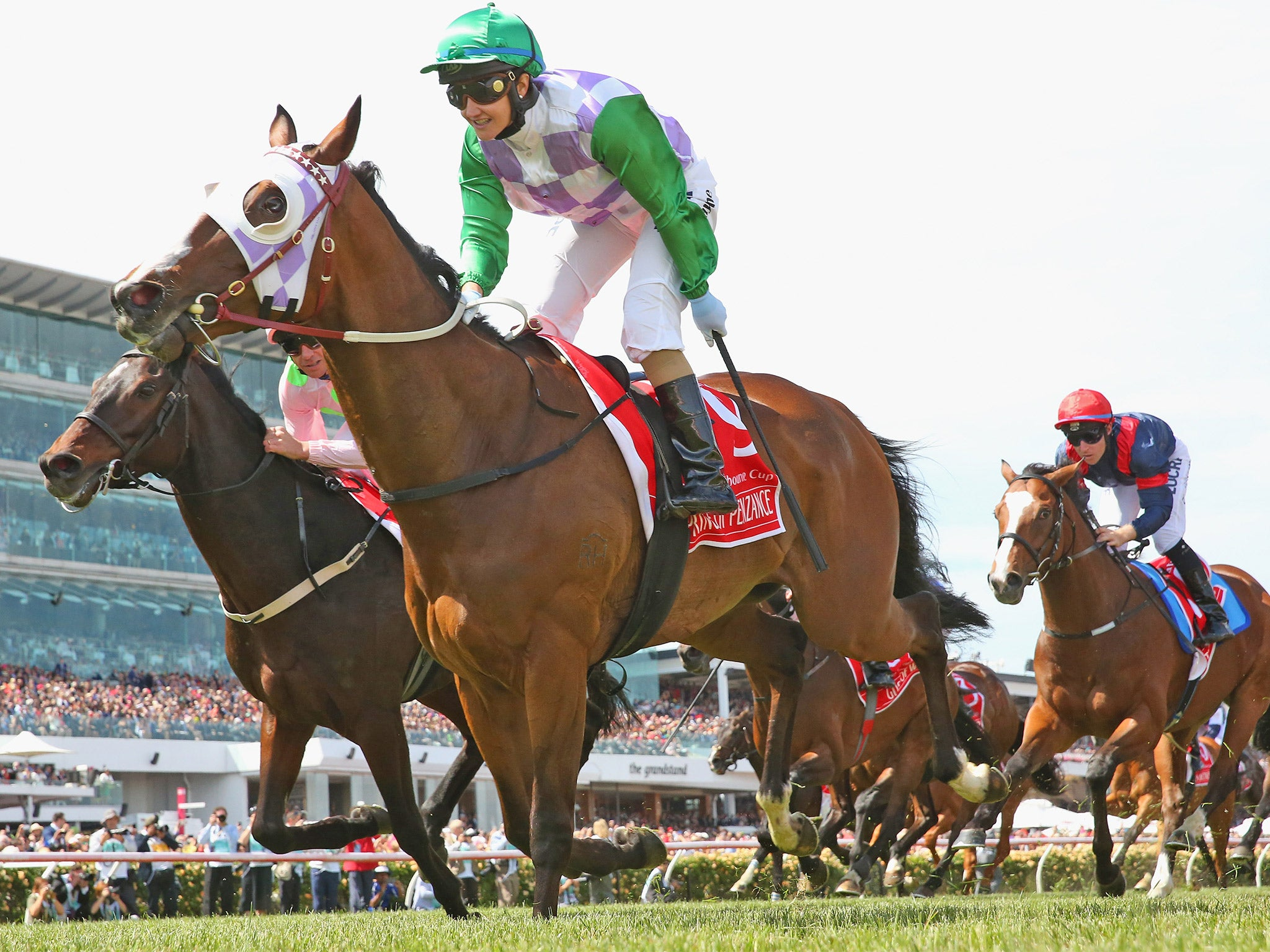 Melbourne Cup 2015 Michelle Payne Upsets Odds To Make History In Australia The Independent The Independent