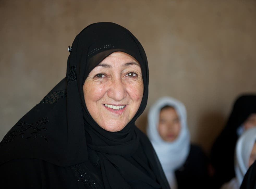 Dr Sakena Yacoobi has been awarded five honourary doctorates and won the Opus Prize in 2013