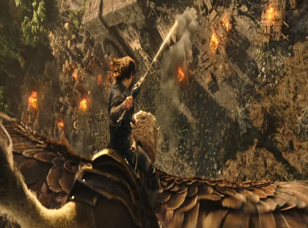 Still from the upcoming Warcraft film