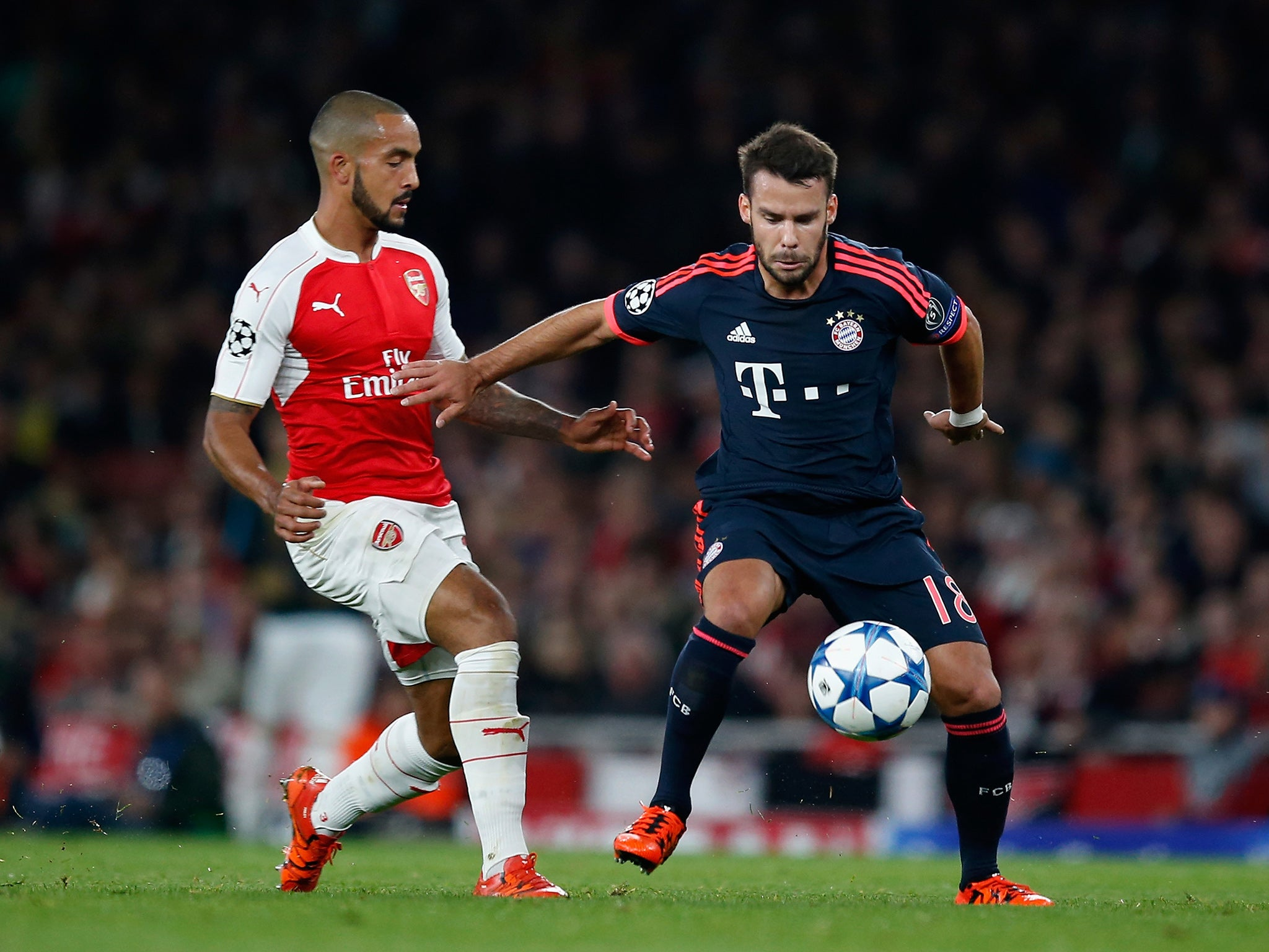 arsenal vs bayern - HD 2048×1536