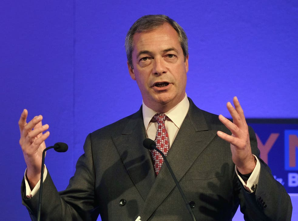 Nigel Farage said the European Union is now 'seriously imperilling our security' by allowing the free movement of refugees