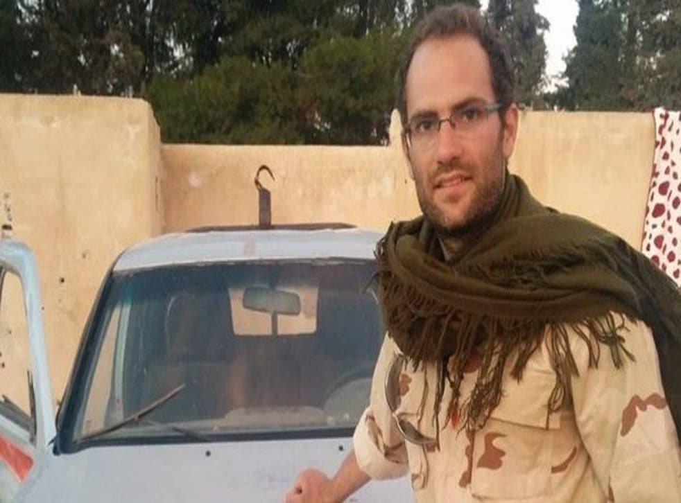 Macer Gifford - who reportedly gave up a top City job - is said to have spent five months in Syria fighting Isis