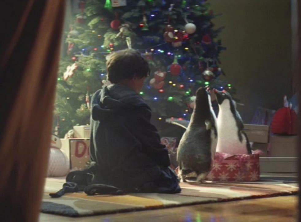 The ad featuring penguins was vastly popular