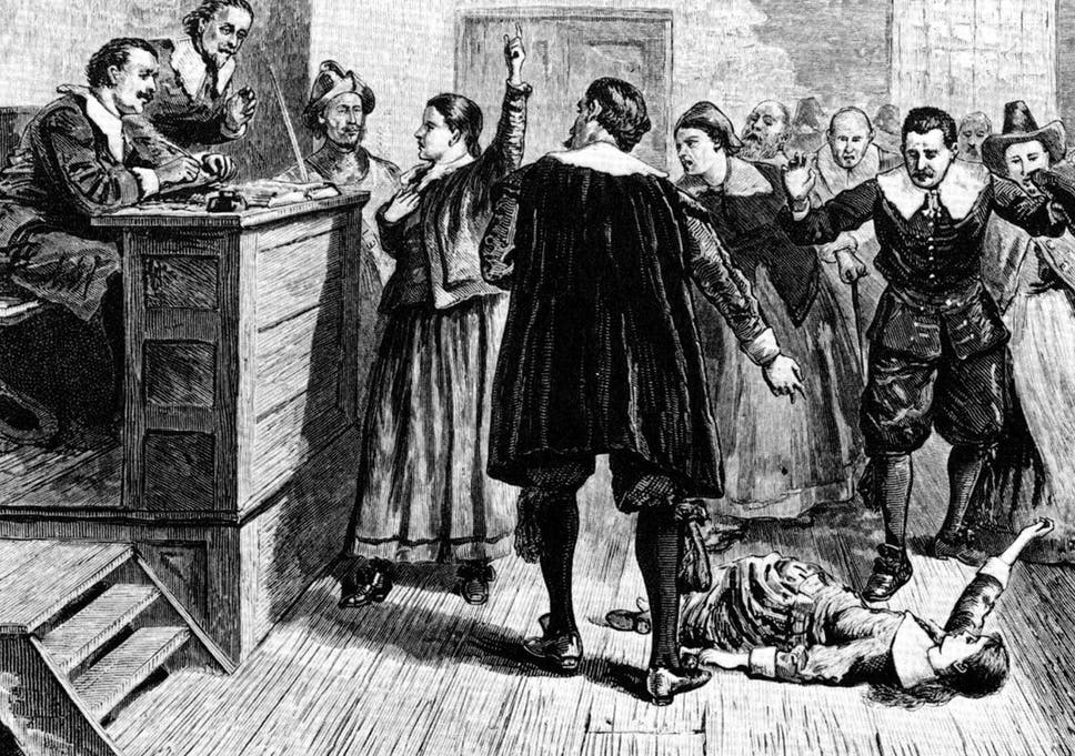 causes of the salem witch trials political religious and social