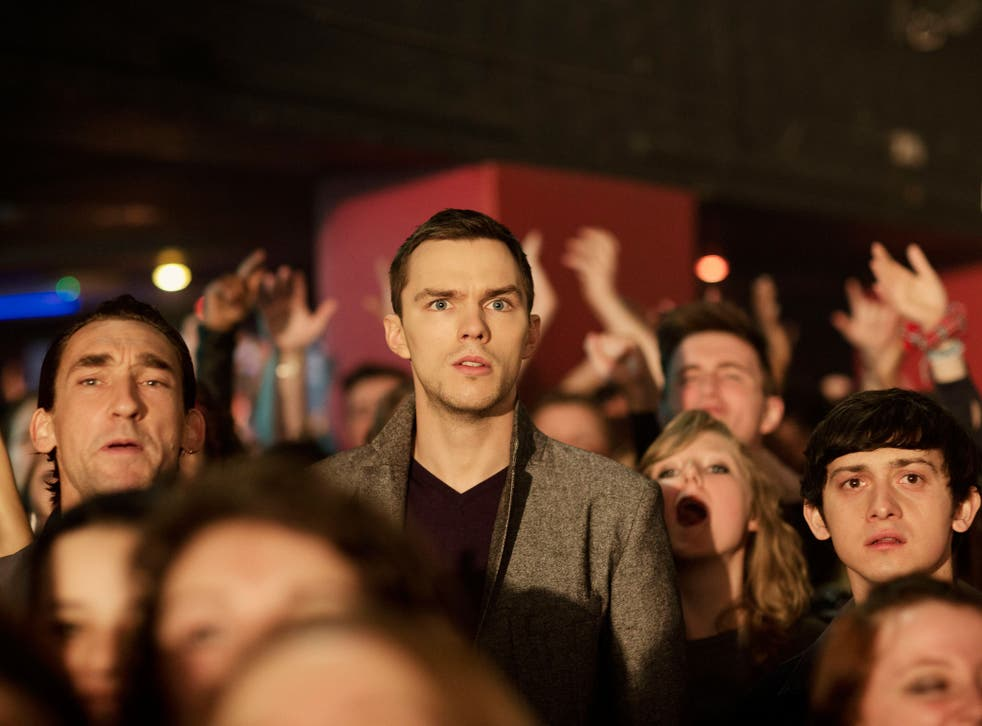 Melody makers: Nicholas Hoult in the film of John Niven's book